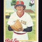1978 Topps Baseball #545 Bill Campbell - Boston Red Sox