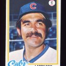 1978 Topps Baseball #541 Larry Cox - Chicago Cubs