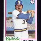 1978 Topps Baseball #532 Skip Jutze - Seattle Mariners