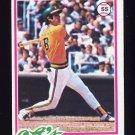 1978 Topps Baseball #528 Rob Picciolo RC - Oakland A's