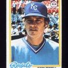 1978 Topps Baseball #525 Jerry Terrell - Kansas City Royals