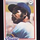 1978 Topps Baseball #520 Larry Hisle - Milwaukee Brewers