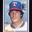 1978 Topps Baseball #518 Tommy Boggs - Texas Rangers NM-M