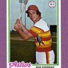 1978 Topps Baseball #514 Rob Sperring - Houston Astros