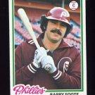 1978 Topps Baseball #513 Barry Foote - Philadelphia Phillies