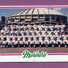 1978 Topps Baseball #499 Seattle Mariners Team Checklist