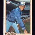 1978 Topps Baseball #496 Jim Clancy RC - Toronto Blue Jays