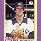 1978 Topps Baseball #493 Steve Renko - Chicago White Sox ExMt