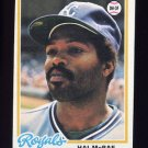 1978 Topps Baseball #465 Hal McRae - Kansas City Royals ExMt