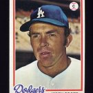 1978 Topps Baseball #464 Jerry Grote - Los Angeles Dodgers
