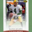 2006 Upper Deck Legends Football #057 Brett Favre - Green Bay Packers