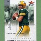 2004 Ultra Football Ultra Performers #09UP Brett Favre - Green Bay Packers