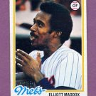 1978 Topps Baseball #442 Elliott Maddox - New York Mets