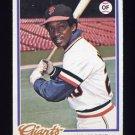 1978 Topps Baseball #436 Vic Harris - San Francisco Giants