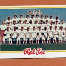 1978 Topps Baseball #424 Boston Red Sox Team Checklist