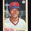 1978 Topps Baseball #416 Jack Brohamer - Boston Red Sox