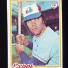 1978 Topps Baseball #399 Pete Mackanin - Montreal Expos