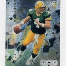 1998 Black Diamond Rookies Football #031 Brett Favre - Green Bay Packers