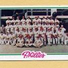 1978 Topps Baseball #381 Philadelphia Phillies Team Checklist