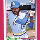 1978 Topps Baseball #366 Larry Milbourne - Seattle Mariners ExMt