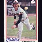 1978 Topps Baseball #341 Mike Flanagan - Baltimore Orioles