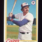 1978 Topps Baseball #294 Larry Parrish - Montreal Expos NM-M