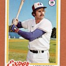 1978 Topps Baseball #294 Larry Parrish - Montreal Expos Ex
