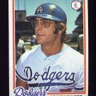 1978 Topps Baseball #285 Steve Yeager - Los Angeles Dodgers NM-M