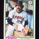 1978 Topps Baseball #268 Gil Flores RC - California Angels