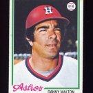 1978 Topps Baseball #263 Danny Walton - Houston Astros