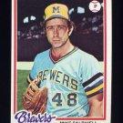 1978 Topps Baseball #212 Mike Caldwell - Milwaukee Brewers