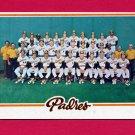 1978 Topps Baseball #192 San Diego Padres Team Checklist