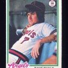 1978 Topps Baseball #178 Dave Chalk - California Angels