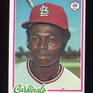 1978 Topps Baseball #170 Lou Brock - St. Louis Cardinals ExMt