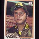 1978 Topps Baseball #164 Bob Owchinko RC - San Diego Padres