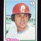 1978 Topps Baseball #161 Bob Boone - Philadelphia Phillies