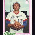 1978 Topps Baseball #156 Andy Messersmith - Atlanta Braves NM-M