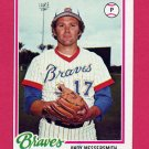1978 Topps Baseball #156 Andy Messersmith - Atlanta Braves Ex