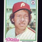 1978 Topps Baseball #136 Ted Sizemore - Philadelphia Phillies