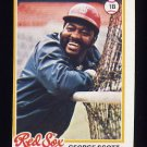 1978 Topps Baseball #125 George Scott - Boston Red Sox