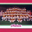 1978 Topps Baseball #112 Houston Astros Team Checklist