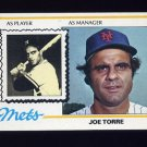 1978 Topps Baseball #109 Joe Torre MG - New York Mets