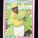 1978 Topps Baseball #102 Matt Alexander - Oakland A's