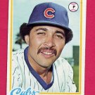 1978 Topps Baseball #099 Willie Hernandez RC - Chicago Cubs ExMt