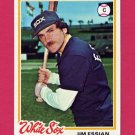 1978 Topps Baseball #098 Jim Essian - Chicago White Sox NM-M