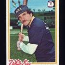 1978 Topps Baseball #098 Jim Essian - Chicago White Sox Ex