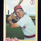 1978 Topps Baseball #083 Bob Montgomery - Boston Red Sox