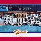 1978 Topps Baseball #082 San Francisco Giants Team Checklist