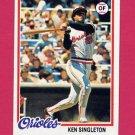 1978 Topps Baseball #065 Ken Singleton - Baltimore Orioles