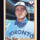 1978 Topps Baseball #033 Dave Lemanczyk - Toronto Blue Jays